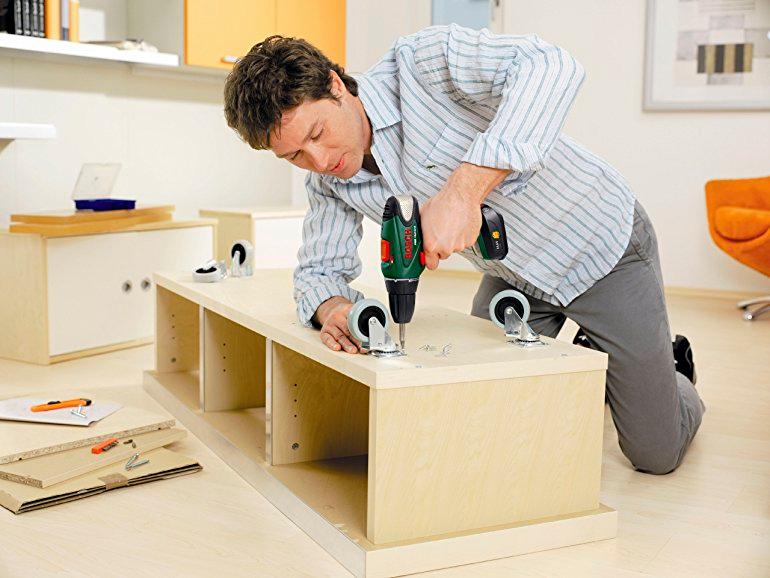шуруповерт для домашних работ