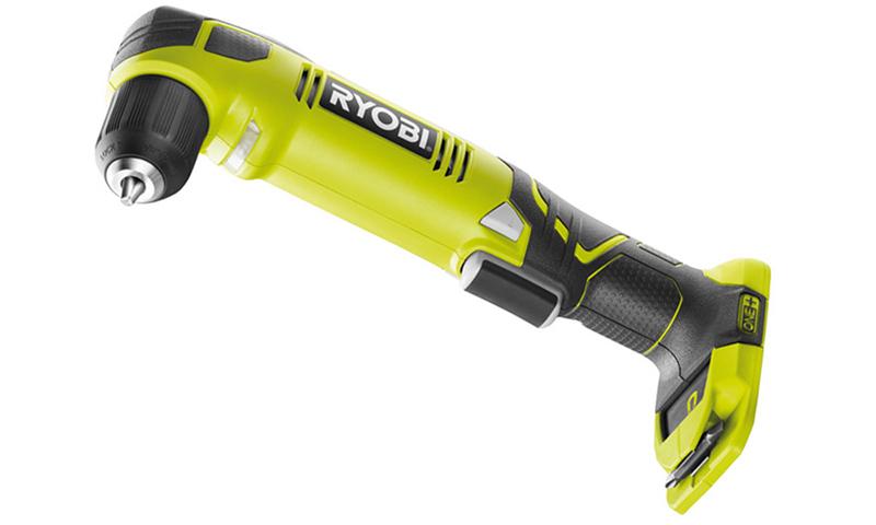 Угловая дрель Ryobi ONE+ RAD1801M – энергонезависимость
