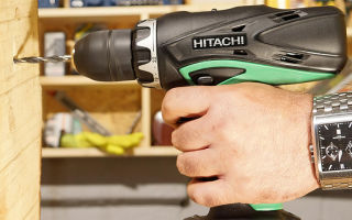 5 лучших шуруповертов Hitachi