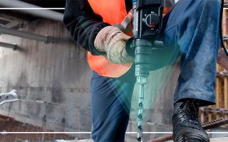 5 лучших перфораторов для бетона