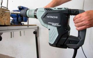 4 лучших перфоратора Hitachi
