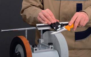Станок для заточки ножей: достоинства и недостатки