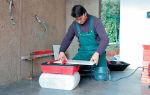 Как пользоваться плиткорезом: все что необходимо знать перед работой